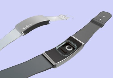 New wristband monitor measures blood alcohol content