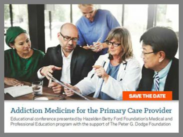 PGDF Partners with Hazelden Betty Ford Foundation on Addiction Conference